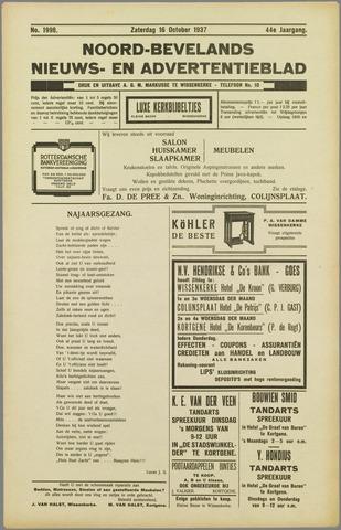 Noord-Bevelands Nieuws- en advertentieblad 1937-10-16