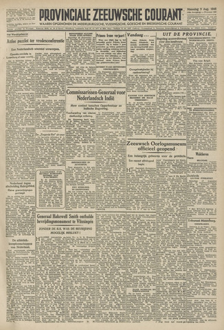 Provinciale Zeeuwse Courant 1946-08-05