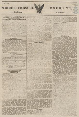 Middelburgsche Courant 1844-12-05