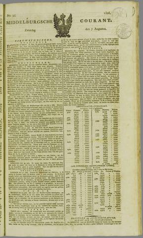 Middelburgsche Courant 1824-08-07