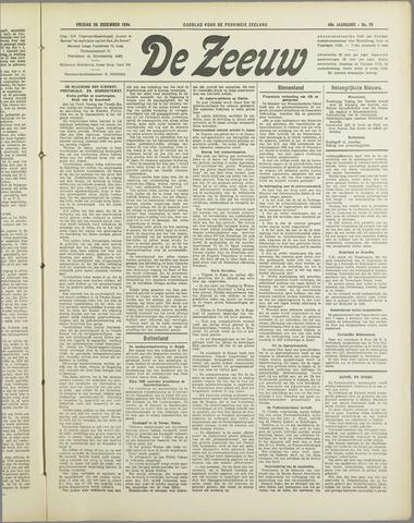 De Zeeuw. Christelijk-historisch nieuwsblad voor Zeeland 1934-12-28
