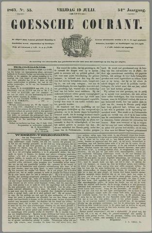 Goessche Courant 1867-07-19