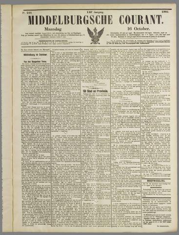 Middelburgsche Courant 1905-10-16