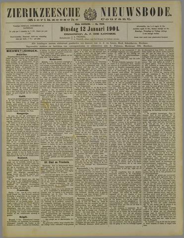 Zierikzeesche Nieuwsbode 1904-01-12