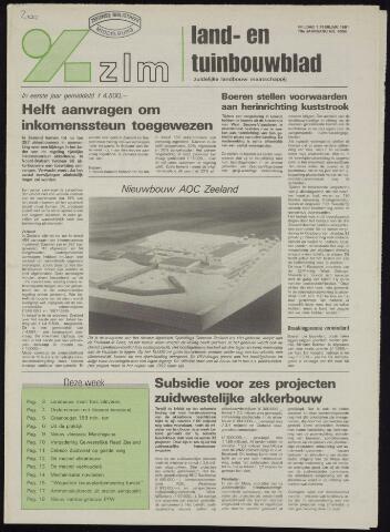 Zeeuwsch landbouwblad ... ZLM land- en tuinbouwblad 1991-02-01