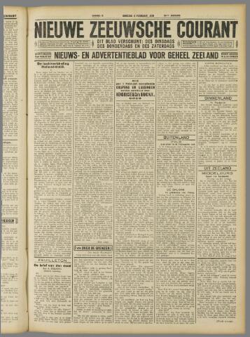 Nieuwe Zeeuwsche Courant 1930-02-04