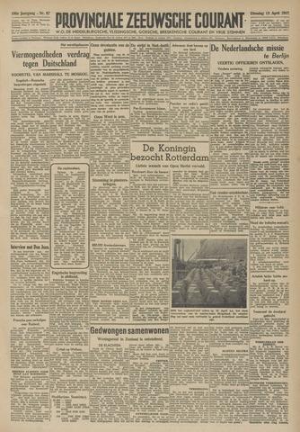Provinciale Zeeuwse Courant 1947-04-15