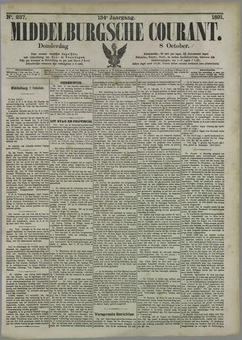 Middelburgsche Courant 1891-10-08