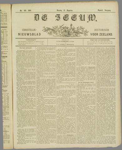De Zeeuw. Christelijk-historisch nieuwsblad voor Zeeland 1895-08-13