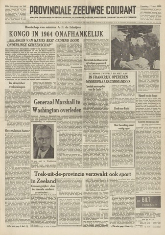 Provinciale Zeeuwse Courant 1959-10-17