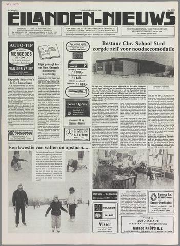 Eilanden-nieuws. Christelijk streekblad op gereformeerde grondslag 1985-01-18