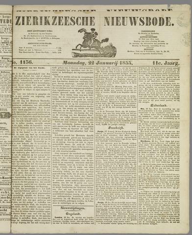 Zierikzeesche Nieuwsbode 1855-01-22