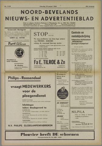 Noord-Bevelands Nieuws- en advertentieblad 1965-01-23