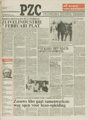 Provinciale Zeeuwse Courant 1977-01-27