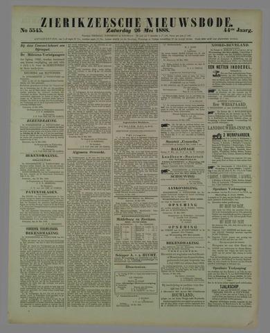 Zierikzeesche Nieuwsbode 1888-05-26