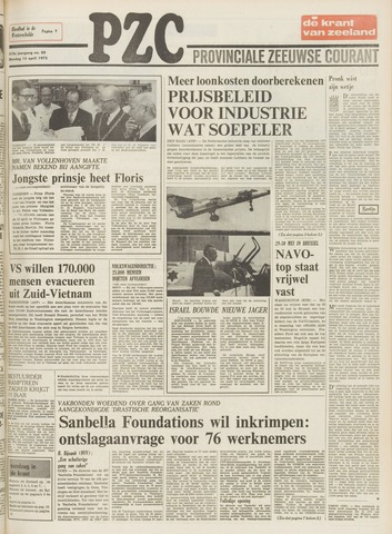 Provinciale Zeeuwse Courant 1975-04-15