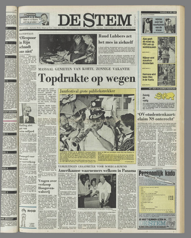 de Stem 1989-05-08