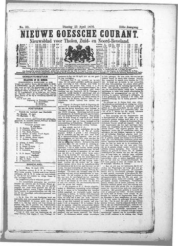 Nieuwe Goessche Courant 1876-04-25