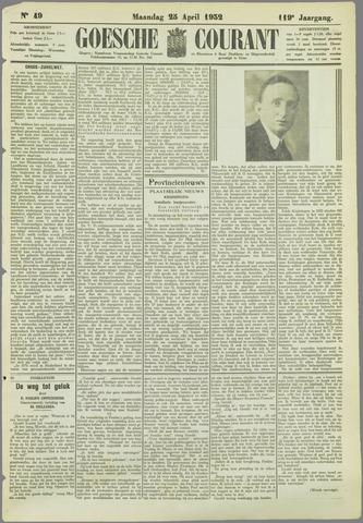 Goessche Courant 1932-04-25