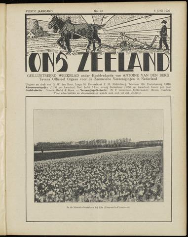 Ons Zeeland / Zeeuwsche editie 1929-06-08