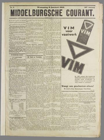 Middelburgsche Courant 1924