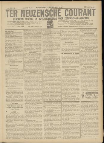 Ter Neuzensche Courant. Algemeen Nieuws- en Advertentieblad voor Zeeuwsch-Vlaanderen / Neuzensche Courant ... (idem) / (Algemeen) nieuws en advertentieblad voor Zeeuwsch-Vlaanderen 1937-02-17