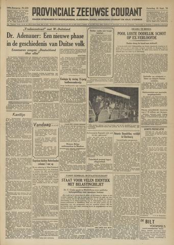Provinciale Zeeuwse Courant 1951-09-15