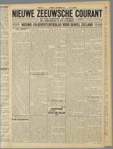 Nieuwe Zeeuwsche Courant 1934-09-04