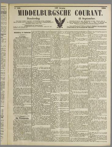 Middelburgsche Courant 1905-09-21