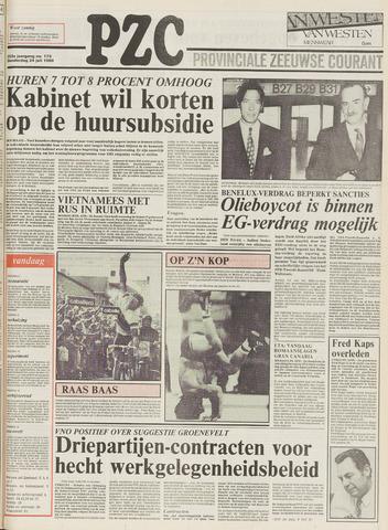 Provinciale Zeeuwse Courant 1980-07-24