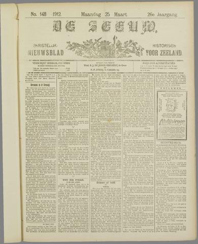 De Zeeuw. Christelijk-historisch nieuwsblad voor Zeeland 1912-03-25