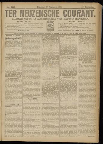 Ter Neuzensche Courant. Algemeen Nieuws- en Advertentieblad voor Zeeuwsch-Vlaanderen / Neuzensche Courant ... (idem) / (Algemeen) nieuws en advertentieblad voor Zeeuwsch-Vlaanderen 1916-08-29