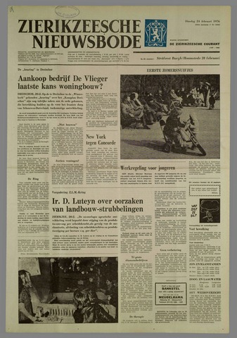 Zierikzeesche Nieuwsbode 1976-02-24