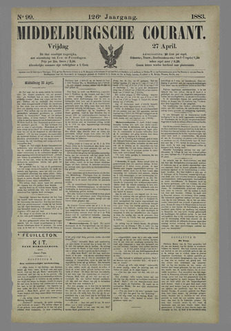 Middelburgsche Courant 1883-04-27