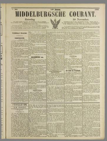Middelburgsche Courant 1906-11-10