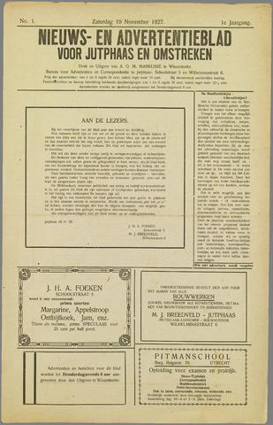 Noord-Bevelands Nieuws- en advertentieblad 1927