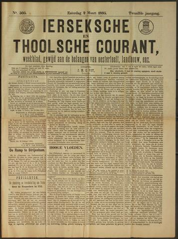 Ierseksche en Thoolsche Courant 1895