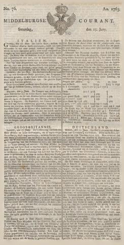 Middelburgsche Courant 1763-06-25