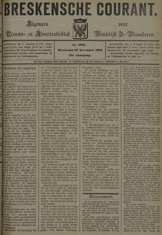 Breskensche Courant 1913-11-26