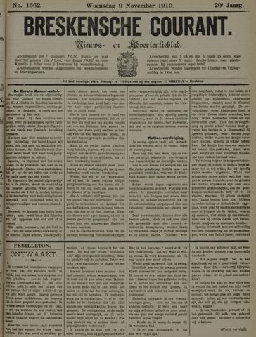 Breskensche Courant 1910-11-09