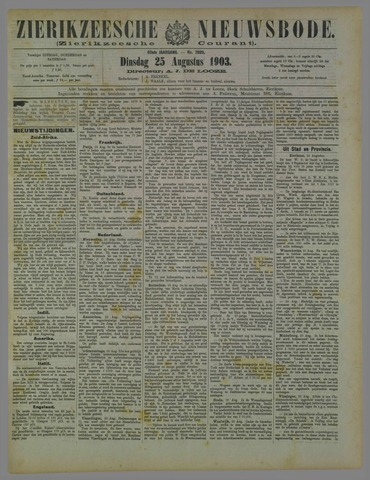 Zierikzeesche Nieuwsbode 1903-08-25