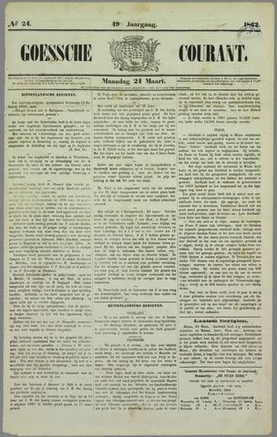 Goessche Courant 1862-03-24