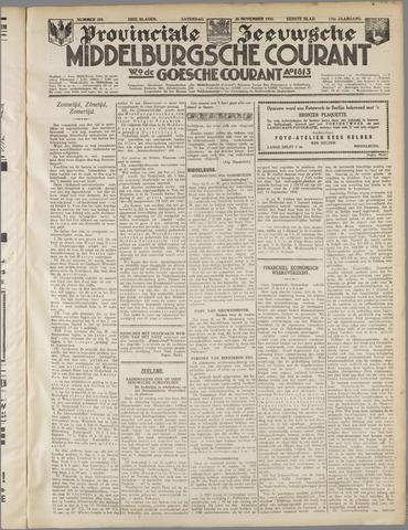Middelburgsche Courant 1933-11-25