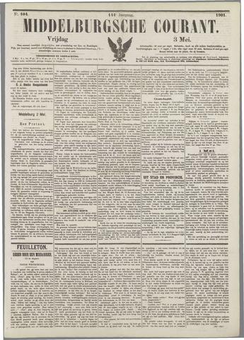 Middelburgsche Courant 1901-05-03
