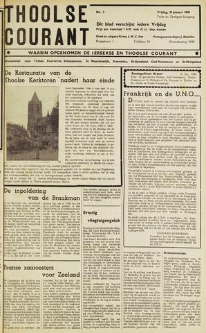 Ierseksche en Thoolsche Courant 1949-01-21