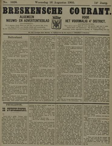 Breskensche Courant 1905-08-16