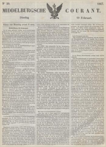 Middelburgsche Courant 1867-02-19