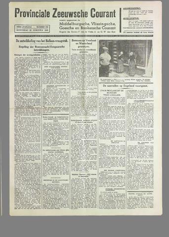 Provinciale Zeeuwse Courant 1940-08-22
