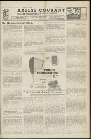 Axelsche Courant 1958-11-08