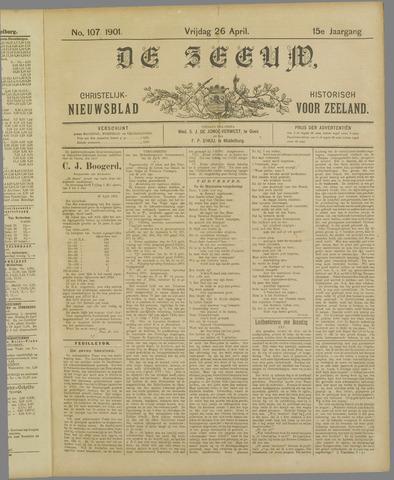 De Zeeuw. Christelijk-historisch nieuwsblad voor Zeeland 1901-04-26
